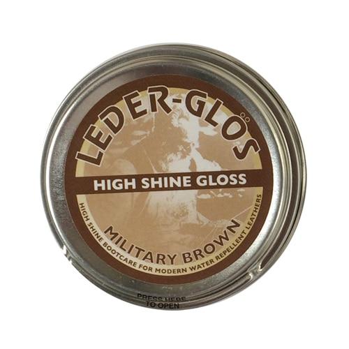 Leder Gloss Polish Mod Brown 40g
