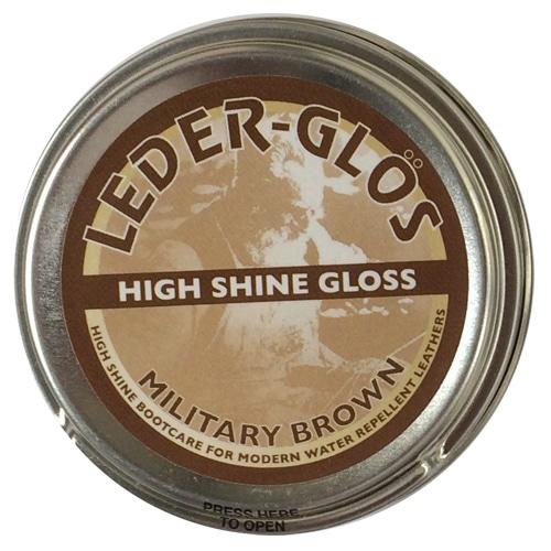 Leder Gloss Polish Mod Brown 80g