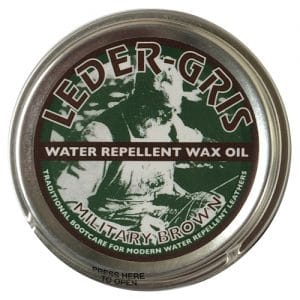Leder Gris Wax, Mod Brown 80g – Single Tin