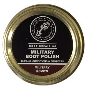 Boot Repair Co Military Brown Polish - 100ml