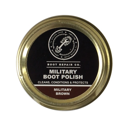 Boot Repair Co Military Brown Polish - 50ml