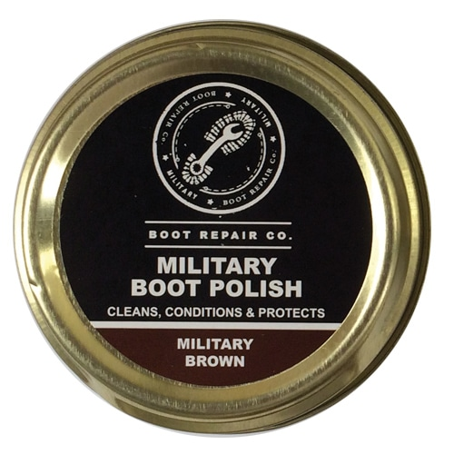 Boot Repair Co Military Brown Polish - 100ml