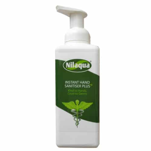 Waterless Nilaqua Hand Sanitiser Plus 500ml - The KitZone