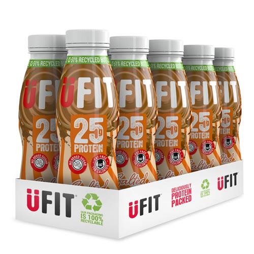 UFIT 25g Salted Caramel 330ml case