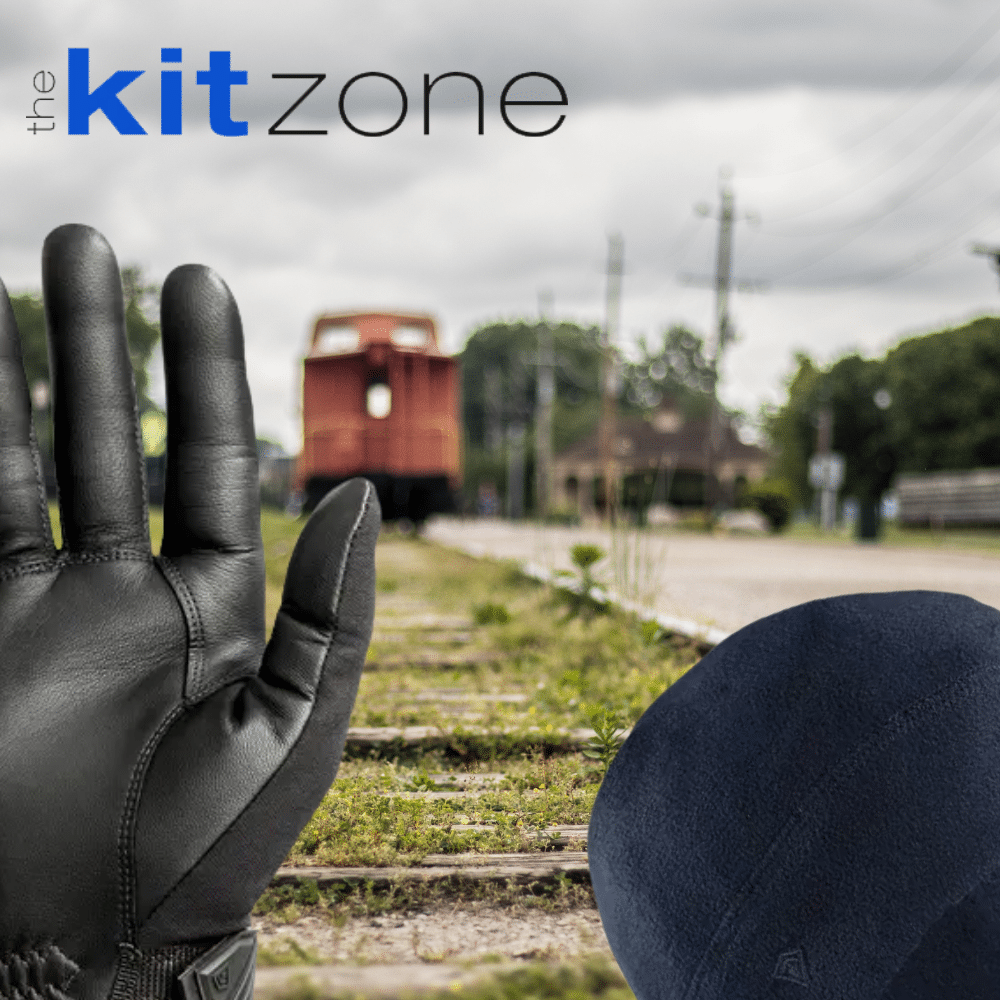 First Tactical Equipment on traintracks